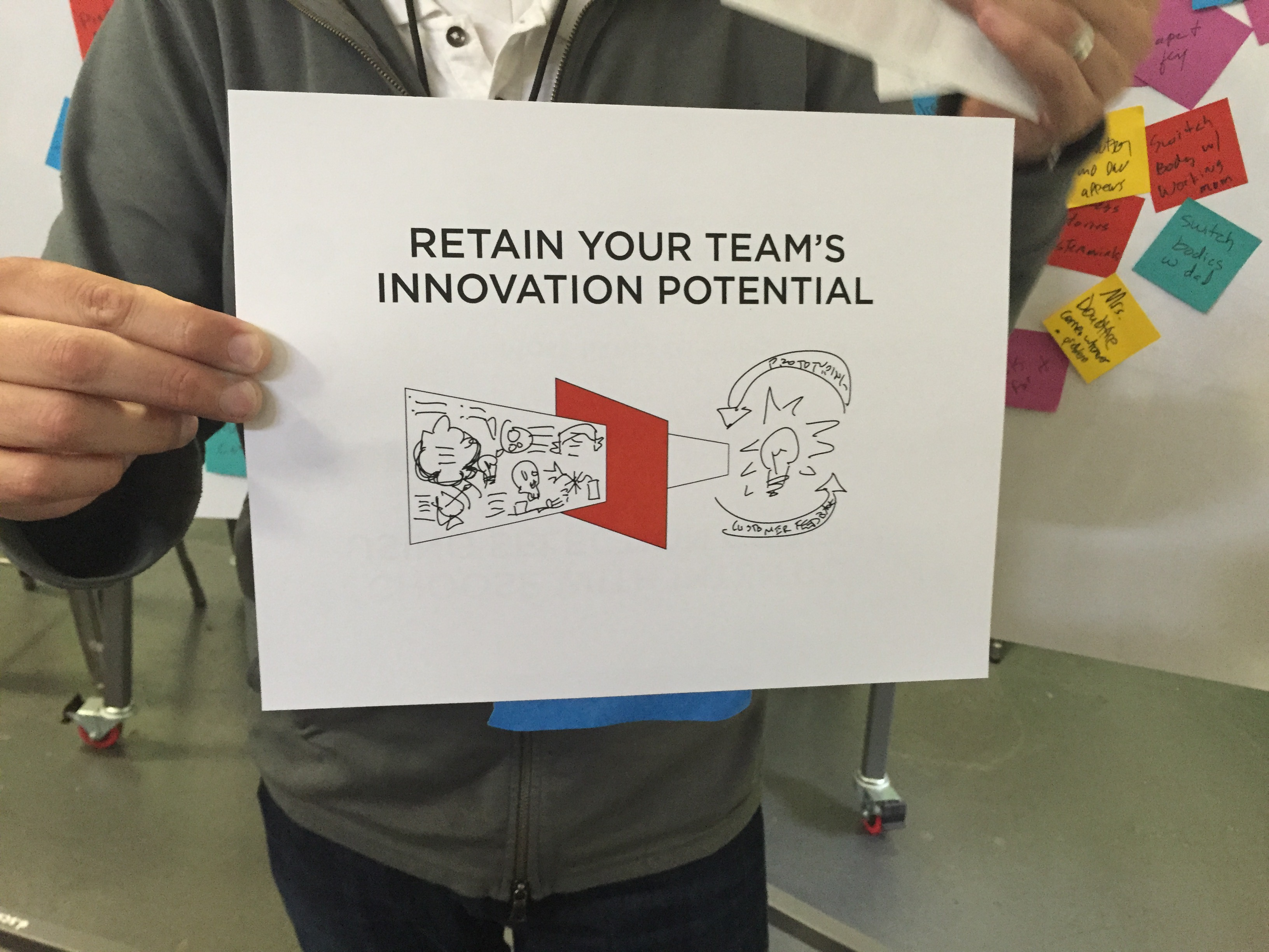 Retain your team's innovative potential